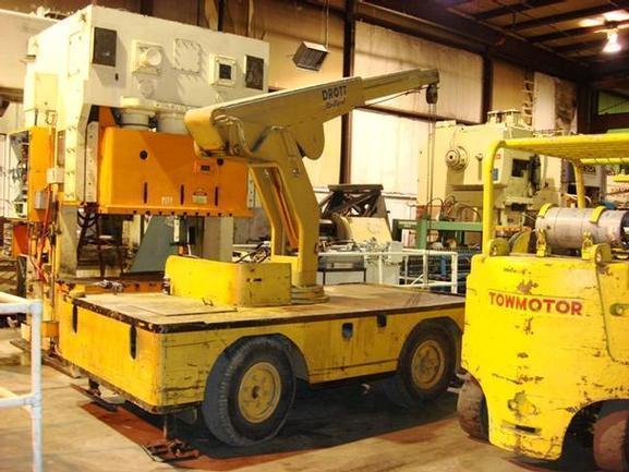 5 Ton Drott 85RM2 Go-Devil Carry Deck Crane