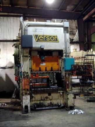 200 Ton Verson SSDC Press, Stock #12029