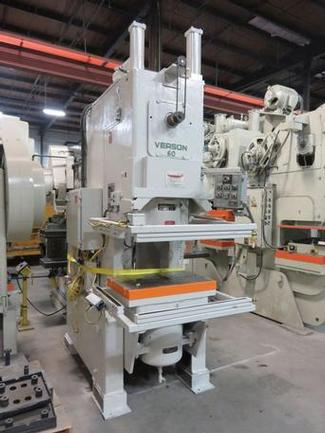 60 Ton Verson OBI Press, S/N 24566, Stock #13336J