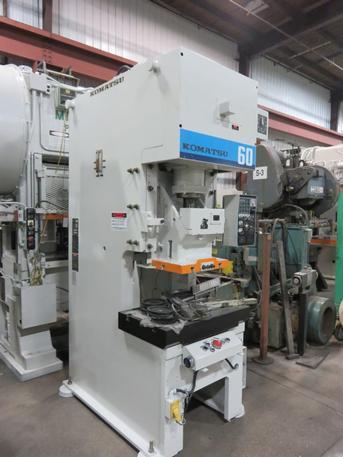 66 Ton Komatsu OBS-60-3 Press, S/N 12844, Stock #13691J