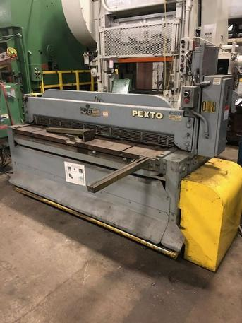 "14 Ga. X 72"" Pexto Mechanical Shear, Stock #13884J"