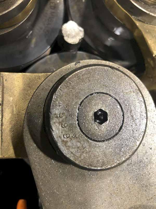 Reed Model A22HB Vertical Cylindrical Die Thread Rolling Machine