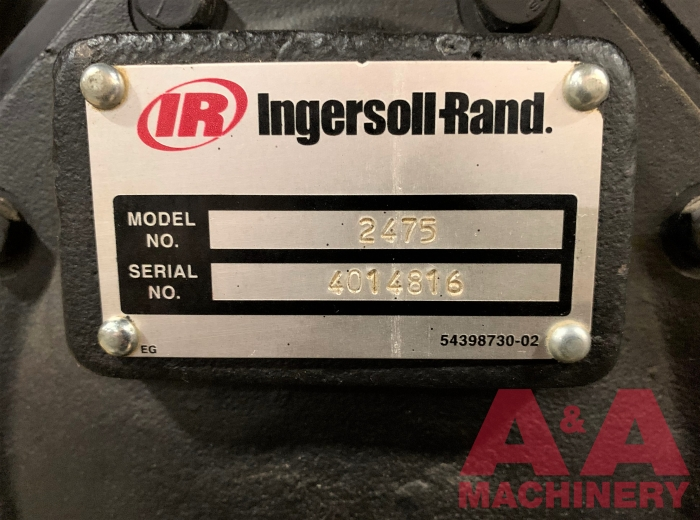 Ingersoll Rand 7.5Hp Reciprocating 2-Stage Air Compressor