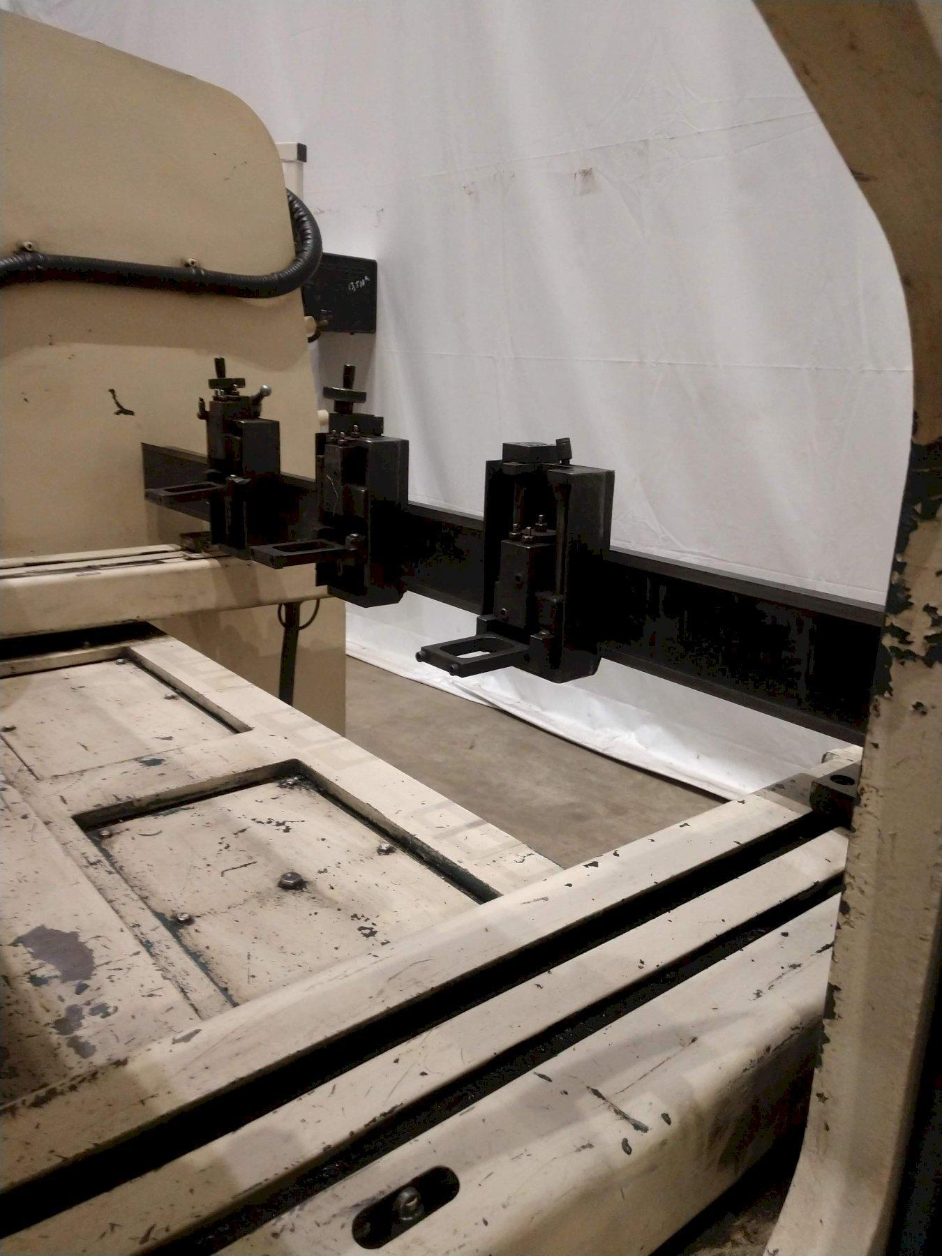 "50 TON X 78"" AMADA PROMECAM MODEL #RG50 HYDRAULIC PRESS BRAKE: STOCK 10040"
