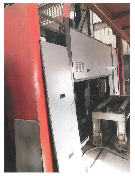 USED VOORTMAN CNC BEAM DRILL LINE WITH V630/1000 DRILL & VB1050 PROGRAMMABLE MITERING BANDSAW St