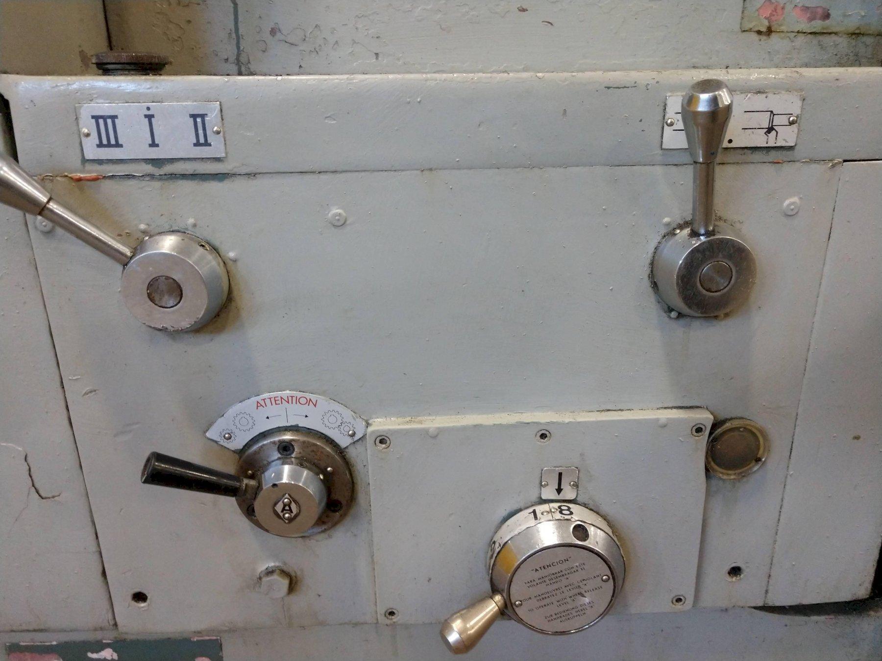 "40"" X 72"" GEMINIS MODEL G-870 GAP BED ENGINE LATHE: STOCK #12535"