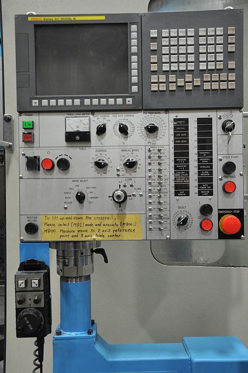 "O-M VTLex3000, FANUC 31i-BT CNC Control, 118"" 4 Jaw Chuck, 12 Position Automatic Tool Changer, Chip Conveyor, 2017"