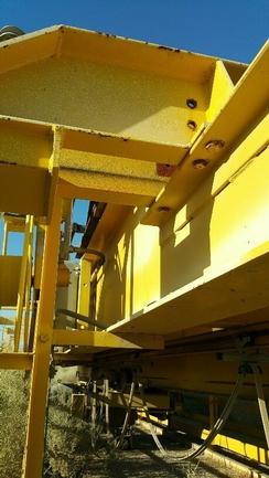 15 Ton, 29' Span, Yale Explosion Proof Industrial Low Headroom Bridge Crane