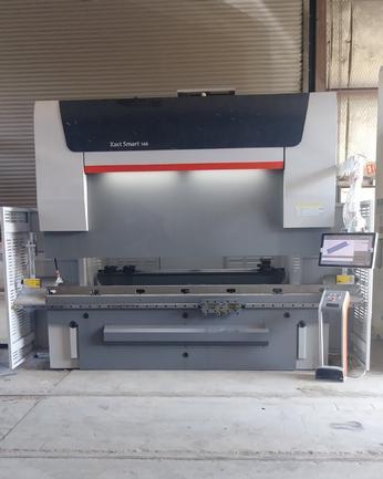 160 Ton Bystronic Xact Smart 160/3100 Hydraulic 10' CNC Press Brake, 2017