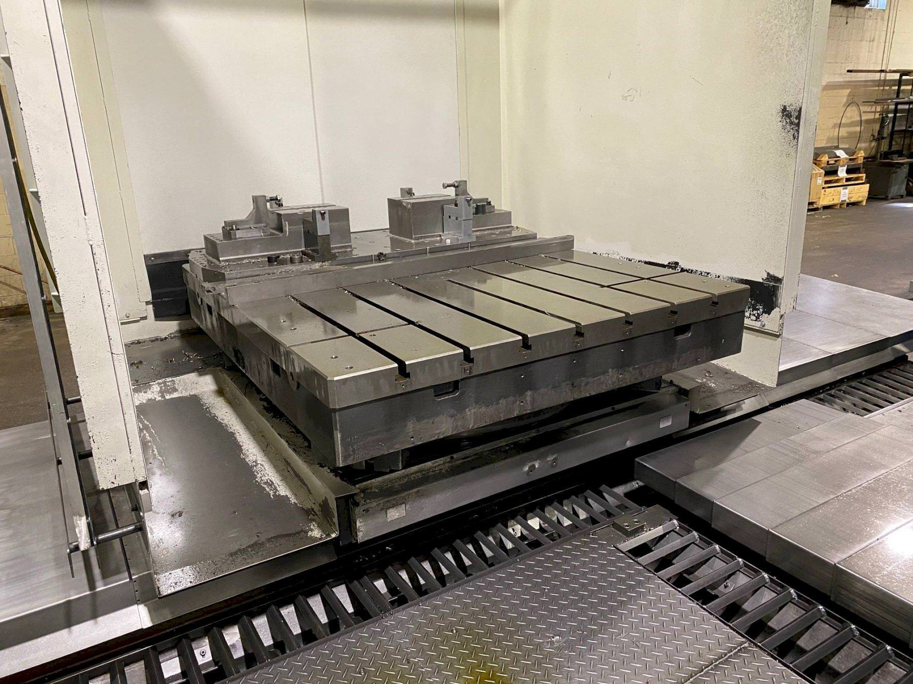"""SNK NISSIN BP130/3.0, 5.12"""" Spindle, X-118"""", Y-78"""", B-Axis Rotary, 60-ATC, Fanuc 16i-MB, 2008 #30968"""