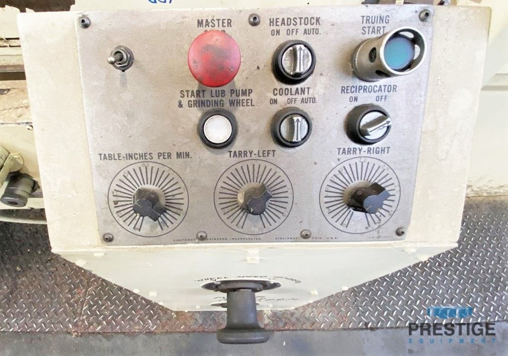 "18"" x 72"" CINCINNATI, 30"" Wheel, Taper Grinding, Shoulder Grinding, Coolant, DRO,  #31042"