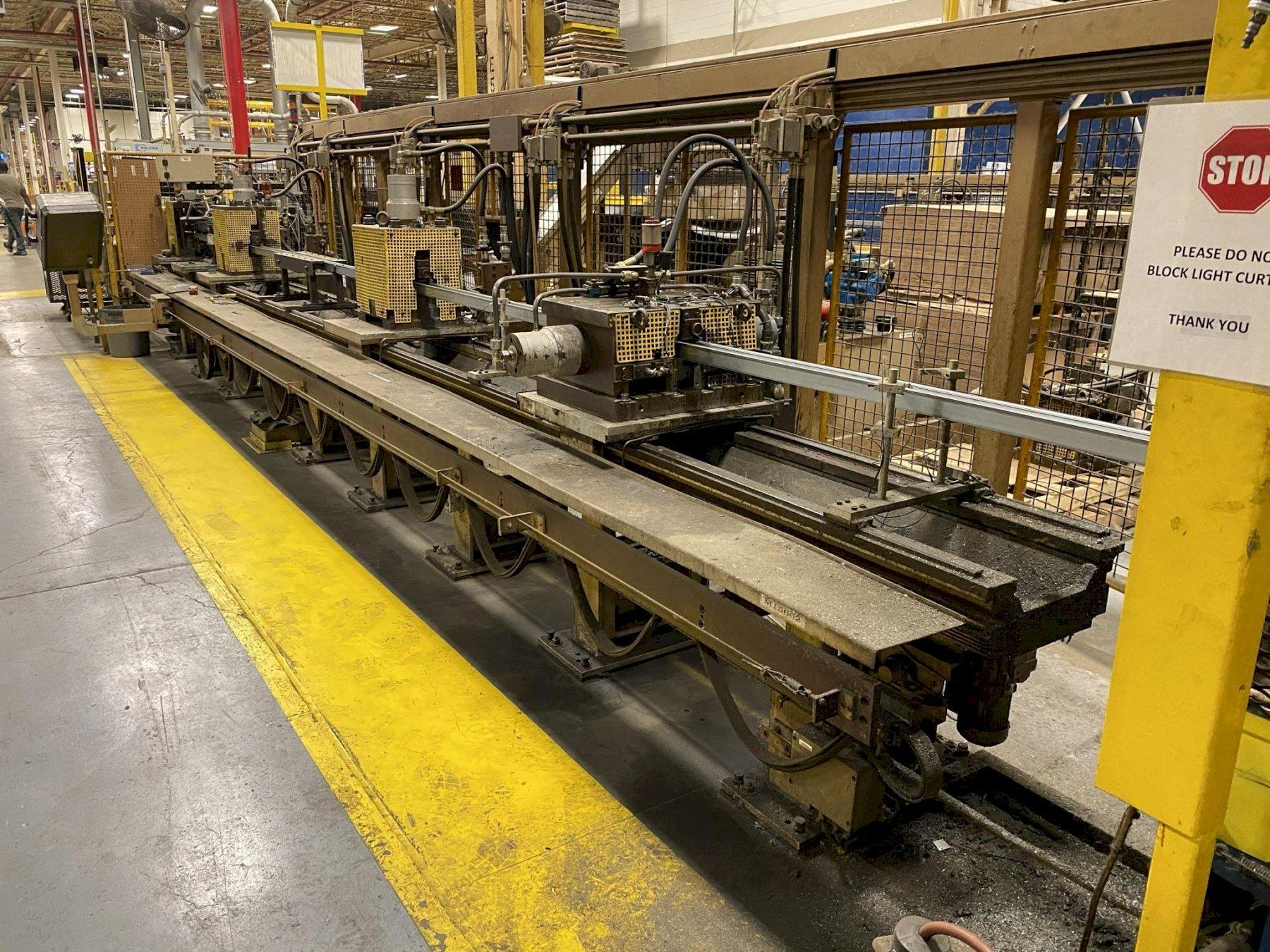 39-Station Dreistern Model P3.100.39 Roll Forming Line