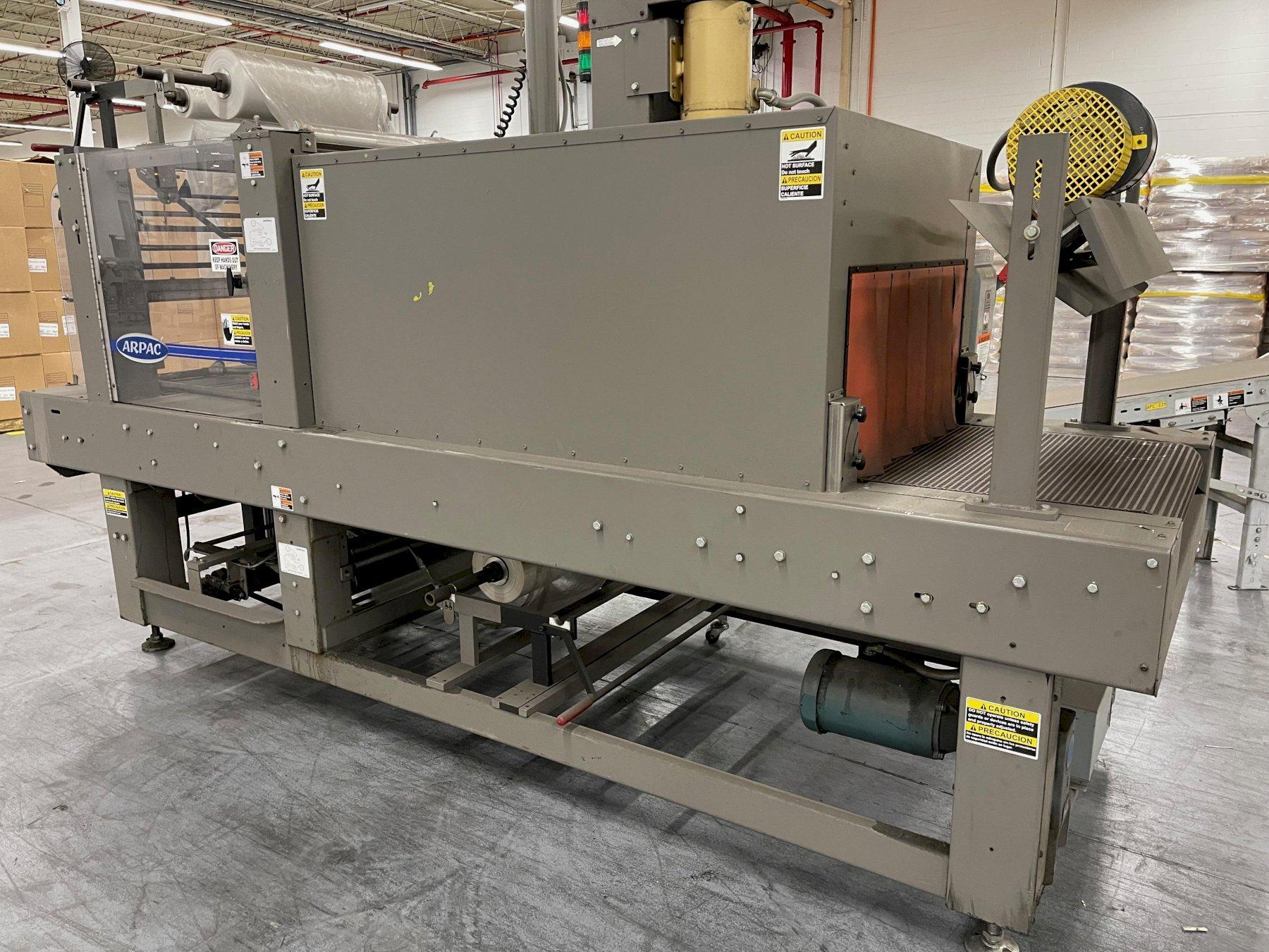 ARPAC Model: 25TW-28 Intermittent Motion Tray Wrapper