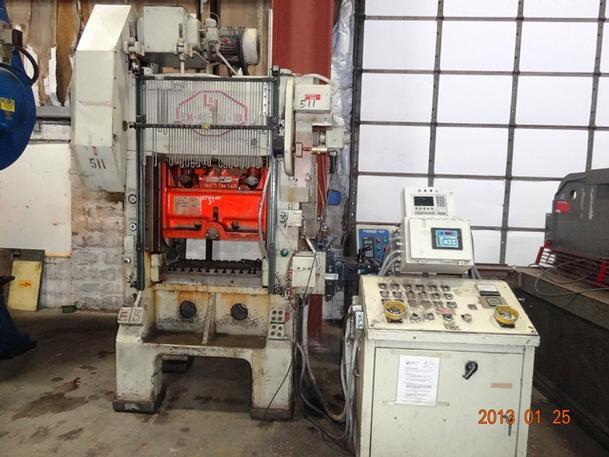 45 Ton L & J Mdl 45 High Speed Press