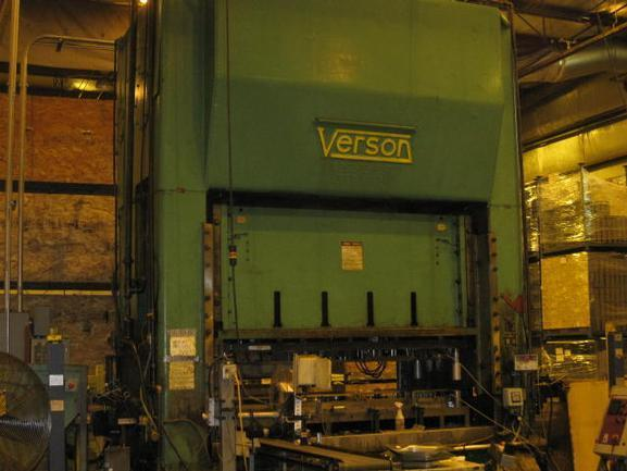 "300 Ton Verson S2-300-108-48T SSDC, 16""Str, 24""SH, 108""X48""Bed, 20 SPM, 28""Window"
