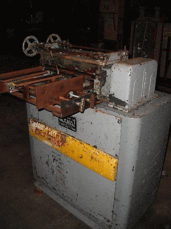 """18"""" x .060"""" Stanat DRL-118, 11 Rolls @ 1"""", Backed Up, '67"""