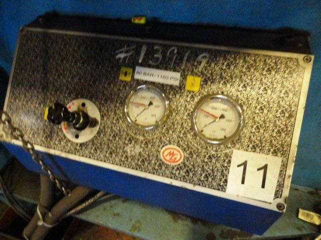 """18' X 7/8"""" MG / HELLER 4 ROLL CNC PLATE BENDING ROLL : STOCK #10918"""