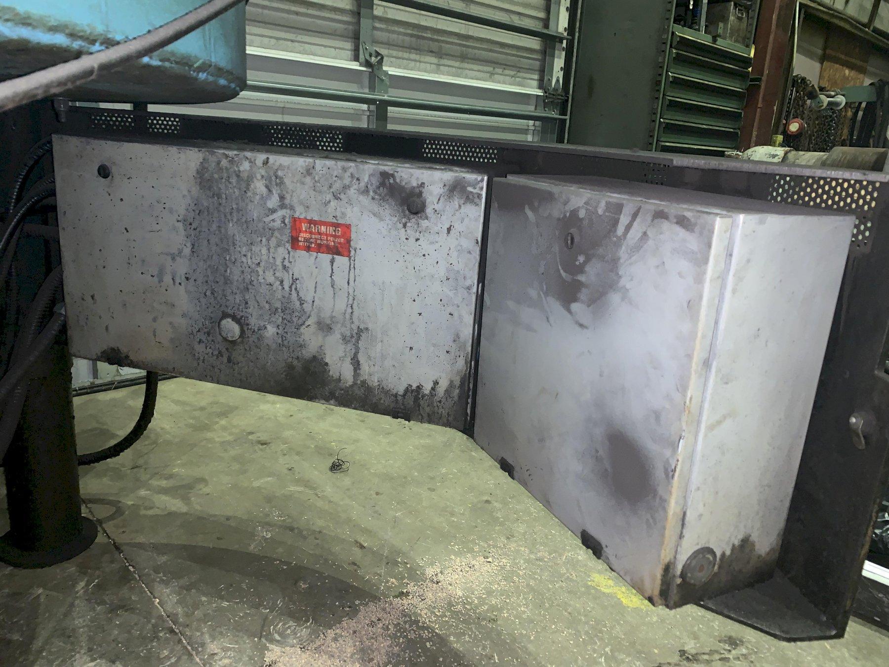 600 DEGREE PYROMAITRE MODEL #TD60-LG TURBO NATURAL GAS ROTARY OVEN: STOCK #10853