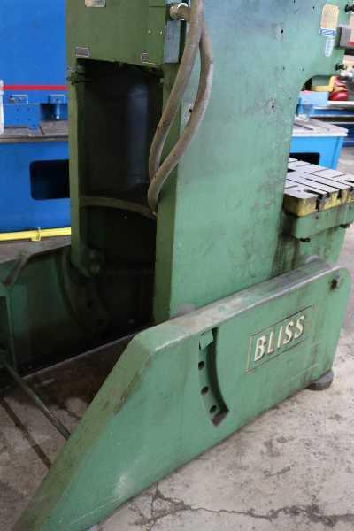 60 TON BLISS C-60 OBI PRESS: STOCK #10206