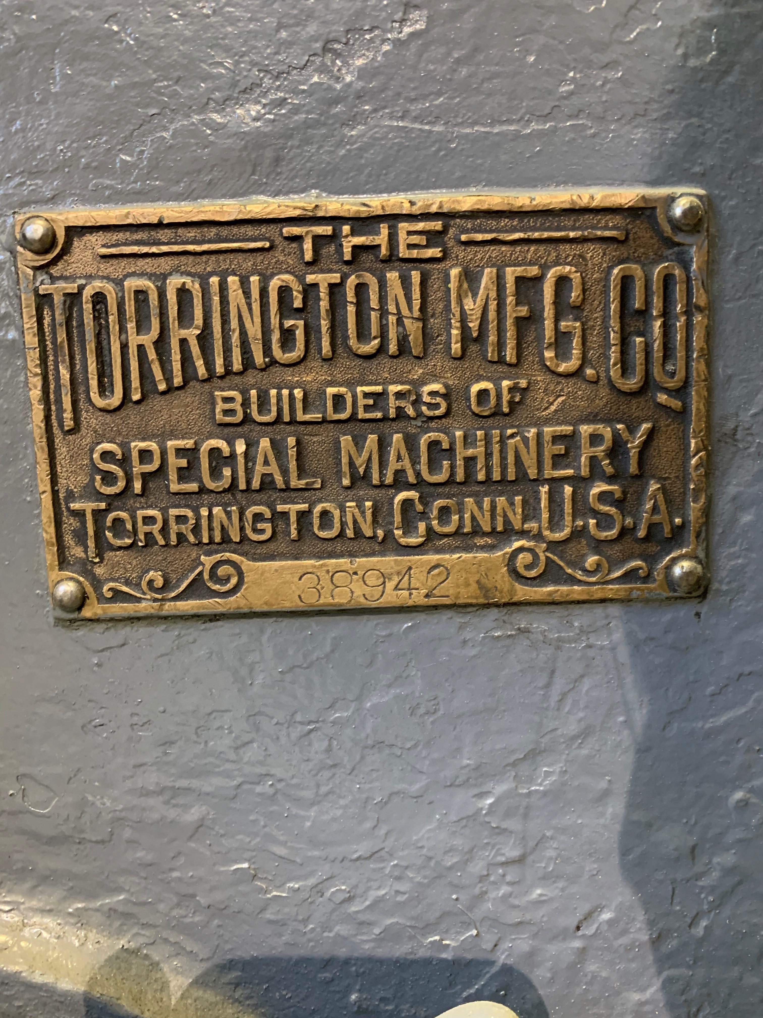 "1/2"" TORRINGTON MODEL #W24 AUTOMATIC SPRING COILER: STOCK 10400"