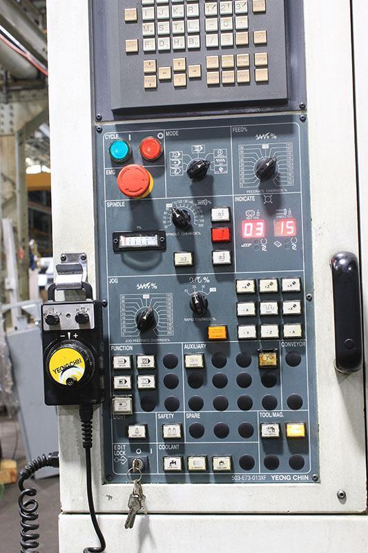 YCM-Supermax TCV-51A Vertical Machining Center, 2003, APC
