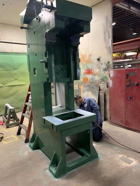 "Remanufactured Minster 60 Ton C-Frame Press, Model DYNAMIC 6SS, SN FB-27261, 3"" Stroke, 0-180 SPM, SH 16.5"", STK# 1250"