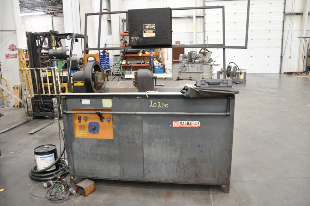 Magnaflux Particle Inspection Machine
