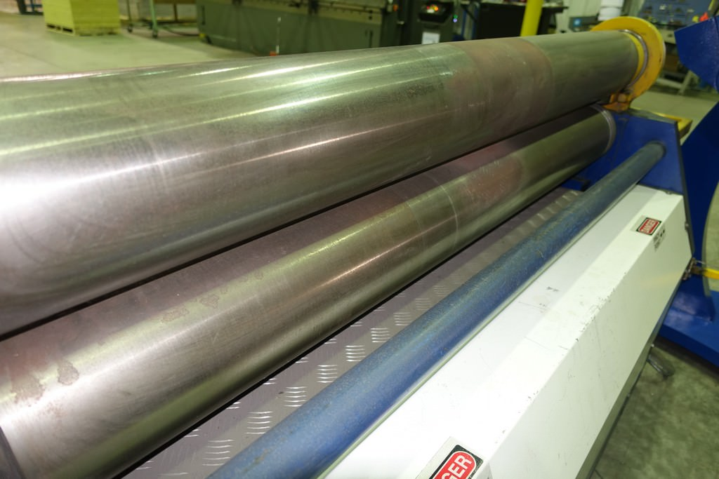 """5/16"""" x 5' Americor Plate Roll, 7"""" Dia. Roll, Hyd, Drop End, Conical Bending, Console with Digital Display, 2012, #30455"""