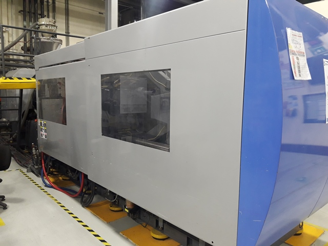 495 TON, 33.2 OZ SUMITOMO SE450HD- 1700 ELECTRIC INJECTION MOLDING MACHINE MFG NEW IN 2007