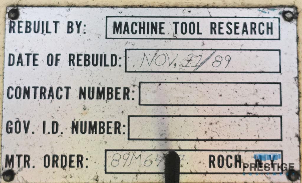 "30"" x 144"" Cincinnati DH, 30"" Wheel, Updated Electrics,  #31132"