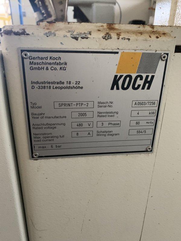 KOCH SPRINT-PTP-2 CNC BORE, GLUE & DOWEL INSERTER 2005