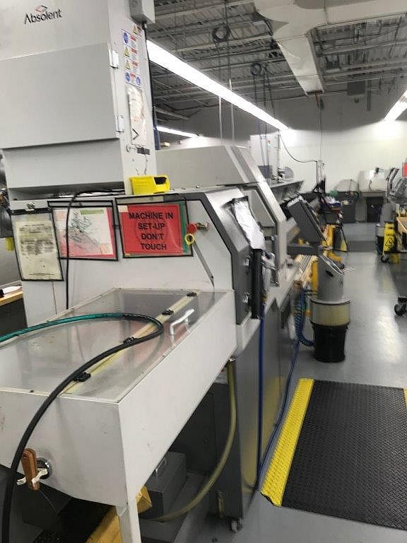 """3/4"""" Citizen L20E X, LIVE TOOL, SUB, HP cool, Mist Collector, Bar Loader, Chip Conveyor, 2012"""