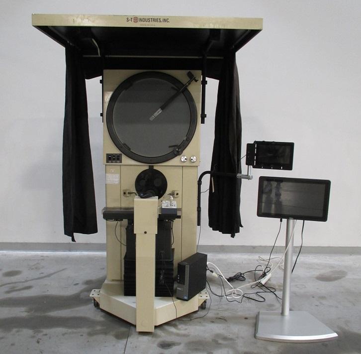 "Scherr Tumico 2450, 24"" Screen, Edge Detection, ME2 CNC Ctrl, Profile & Surface Illumination, Excellent, 2013, JV- 21174GP"