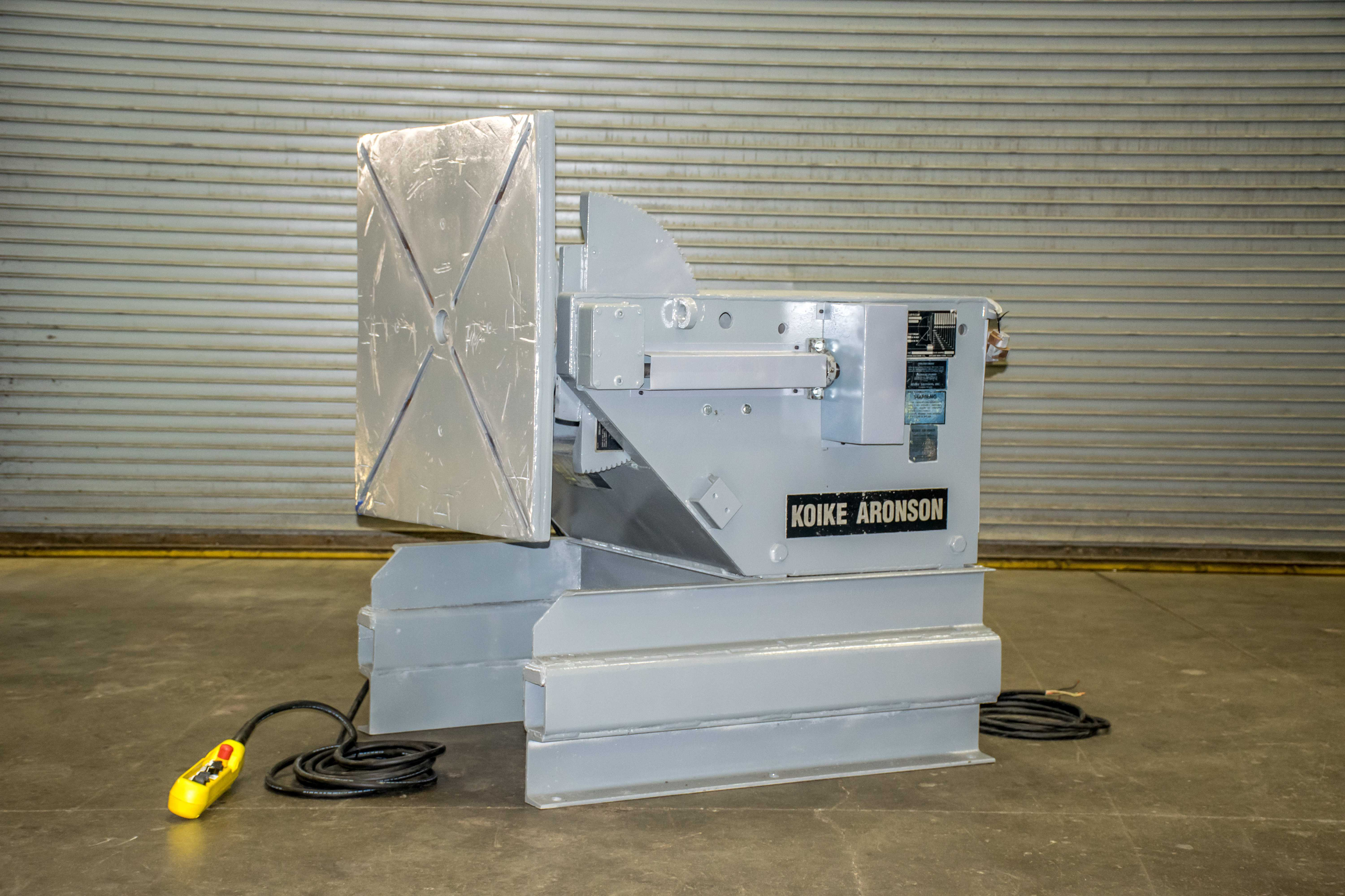 This Aronson Model HD30 Positioner has been completely rebuilt and is ready to ship!