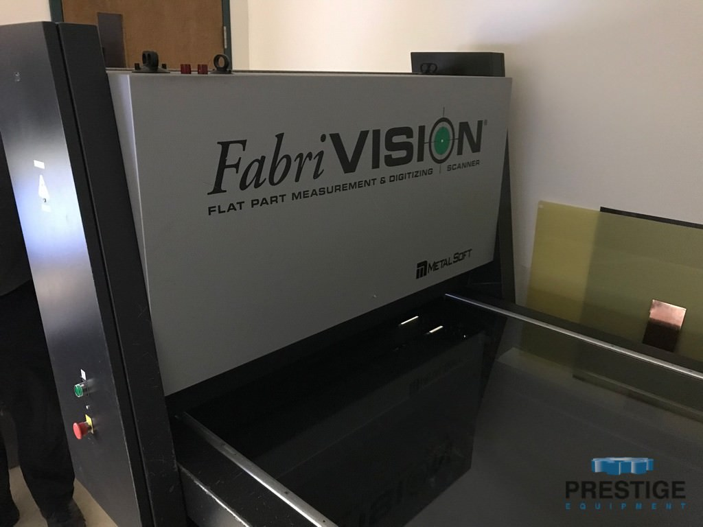 """Fabrivision 48"""" x 48"""" Measuring Machine, 0.5"""" Max. Thickness, In Plant Under Power, #31166"""