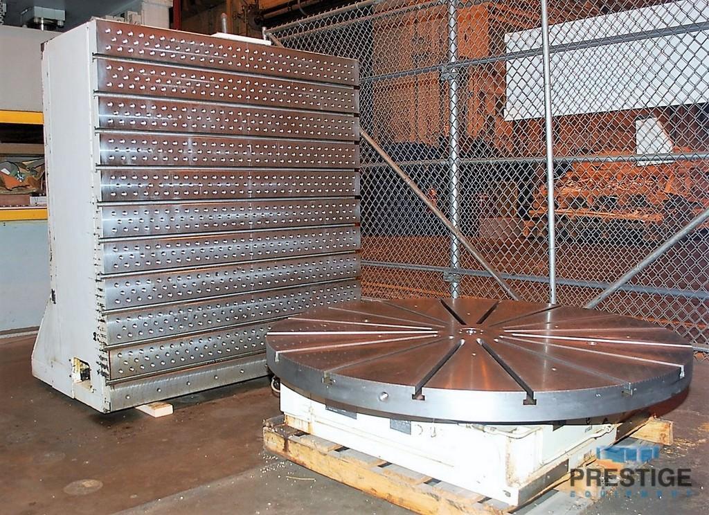 "Producto 60 Series, 60"" Dia., .001 Degree Rotation, 32,000 Lbs Weight Cap, Fanuc Red Cap Servos, 2005, #24408"
