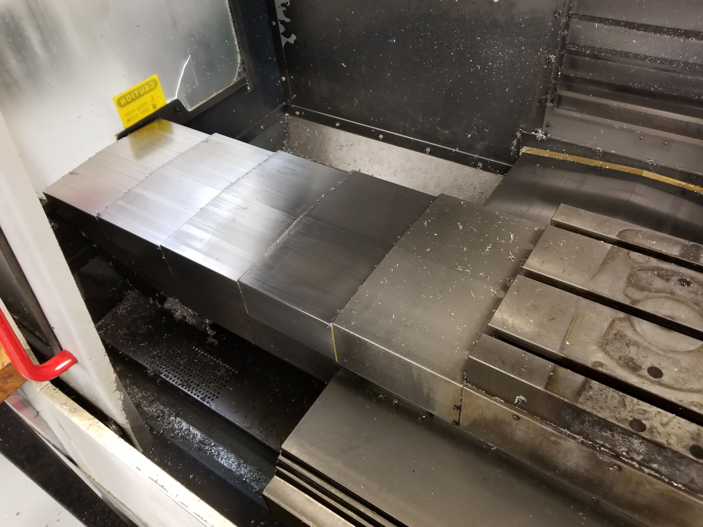 Haas VF-2 CNC Vertical Machining Center with 2-Speed Gearbox Spindle, 20HP Vector Drive, Carousel Tool Changer, and More