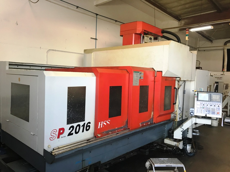 """Awea SP2016HSS, NEW 2004 ONLY INSTALLED 2012, 82"""" x 63"""" x 30"""", 15,000 RPM Spindle Speed, 18 ATC Fanuc 18iMB , 50 HP,2004"""