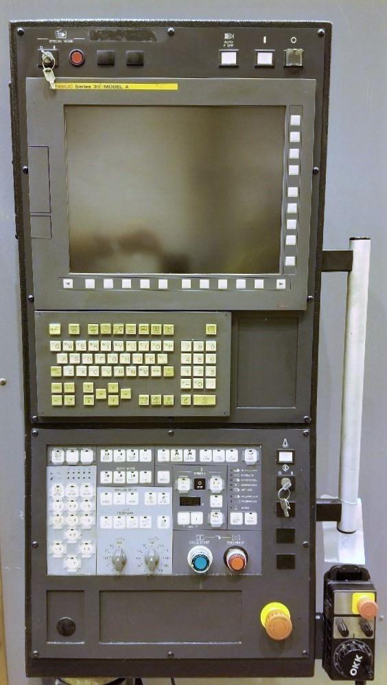 "OKK VM-76R, X-60"",Y-29"",Z-25"", 60"" x 30"" Tbl, 8000 RPM, CAT 50, Fanuc 31i-A CNC, 2012, #29379"
