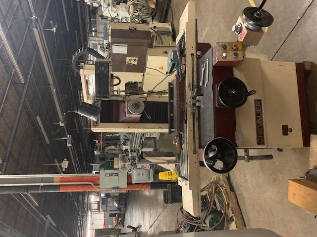 """8"""" x 18"""" Chevalier Surface Grinder with 2-Axis DRO's, Permanent Magnetic Chuck"""