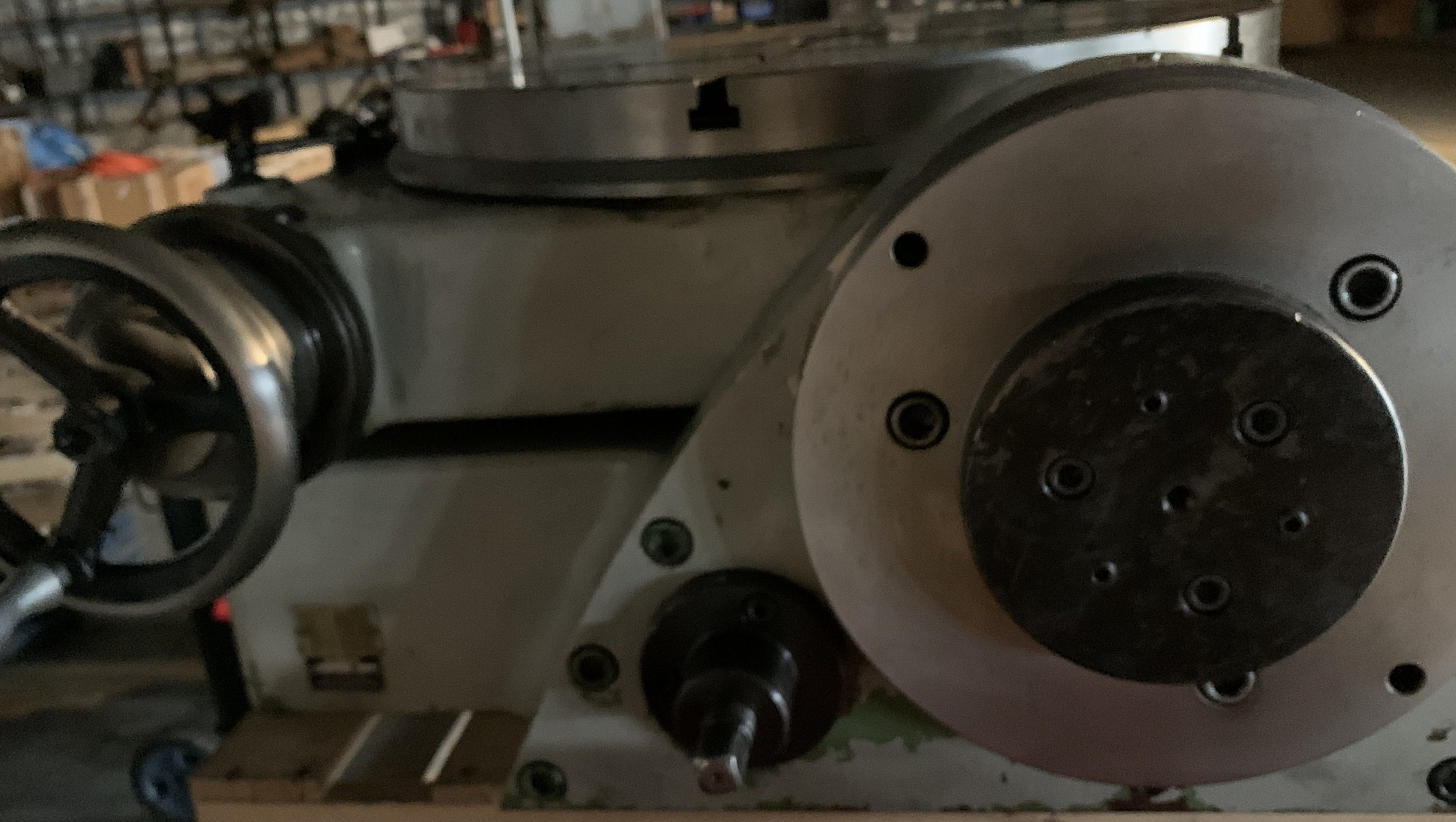 """Walter 25"""" Tilting Rotary Table Model RtS 630G"""