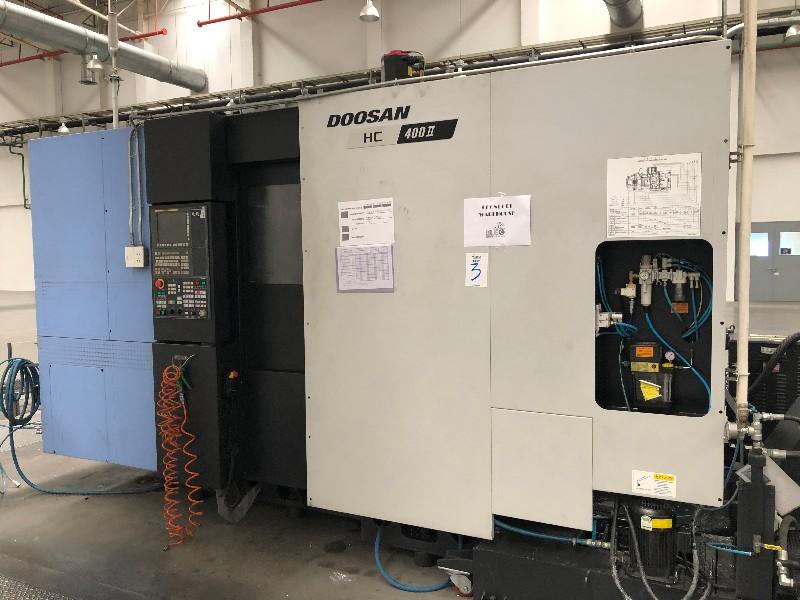 Doosan HC400II Horizontal Machining Centre, used