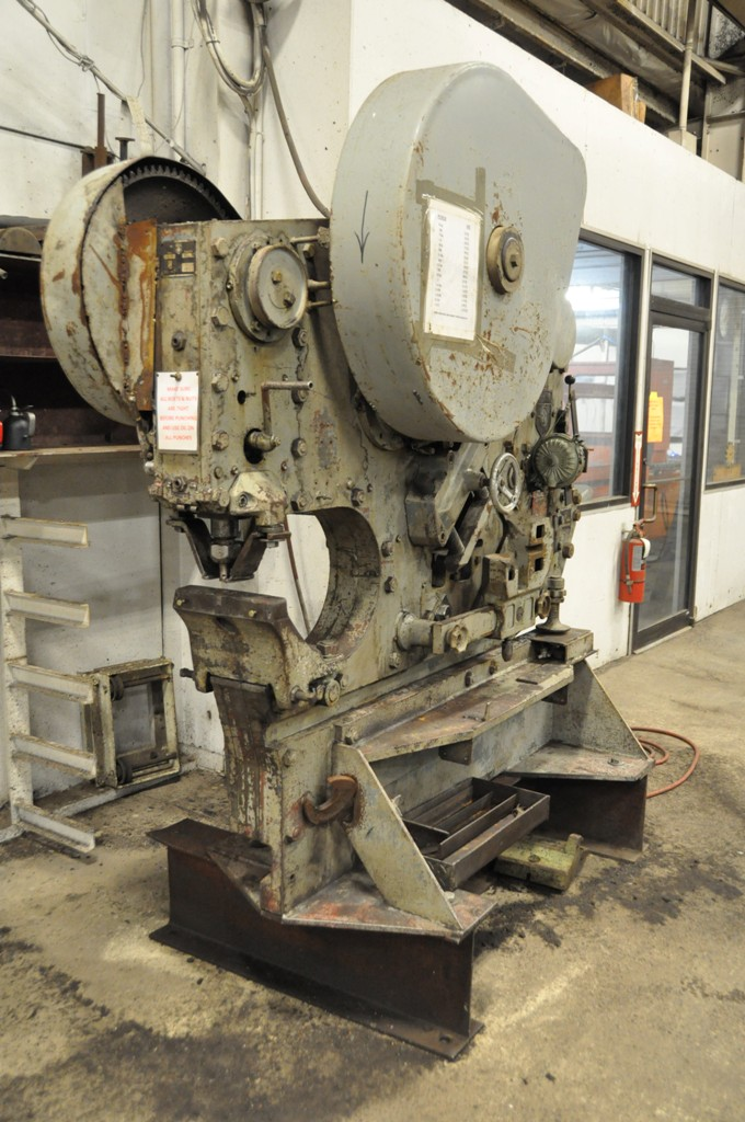 94 Ton Peddinghaus Mechanical Ironworker