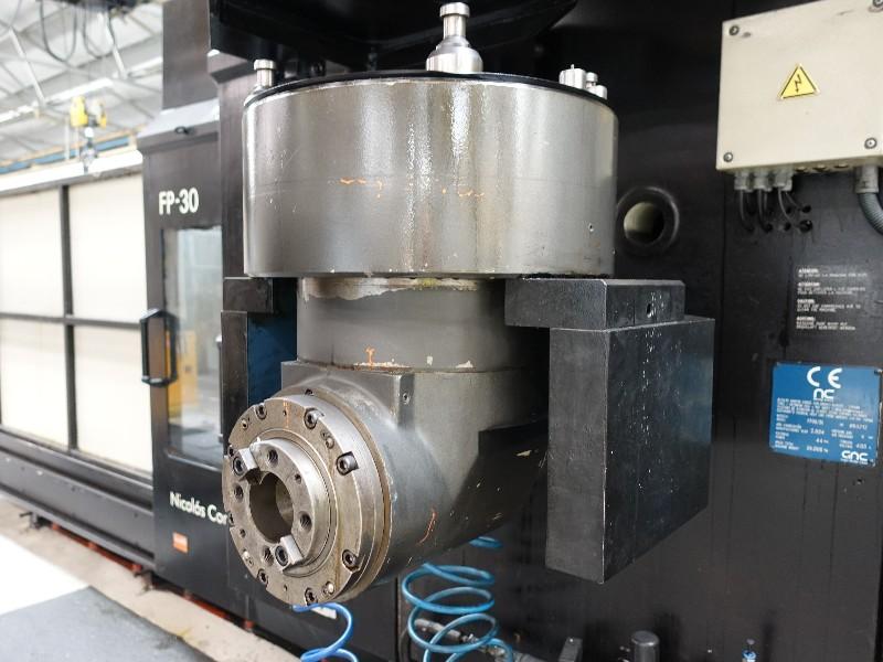 NICOLAS CORREA FP30/35 Bridge Type CNC Milling Machine, 2004