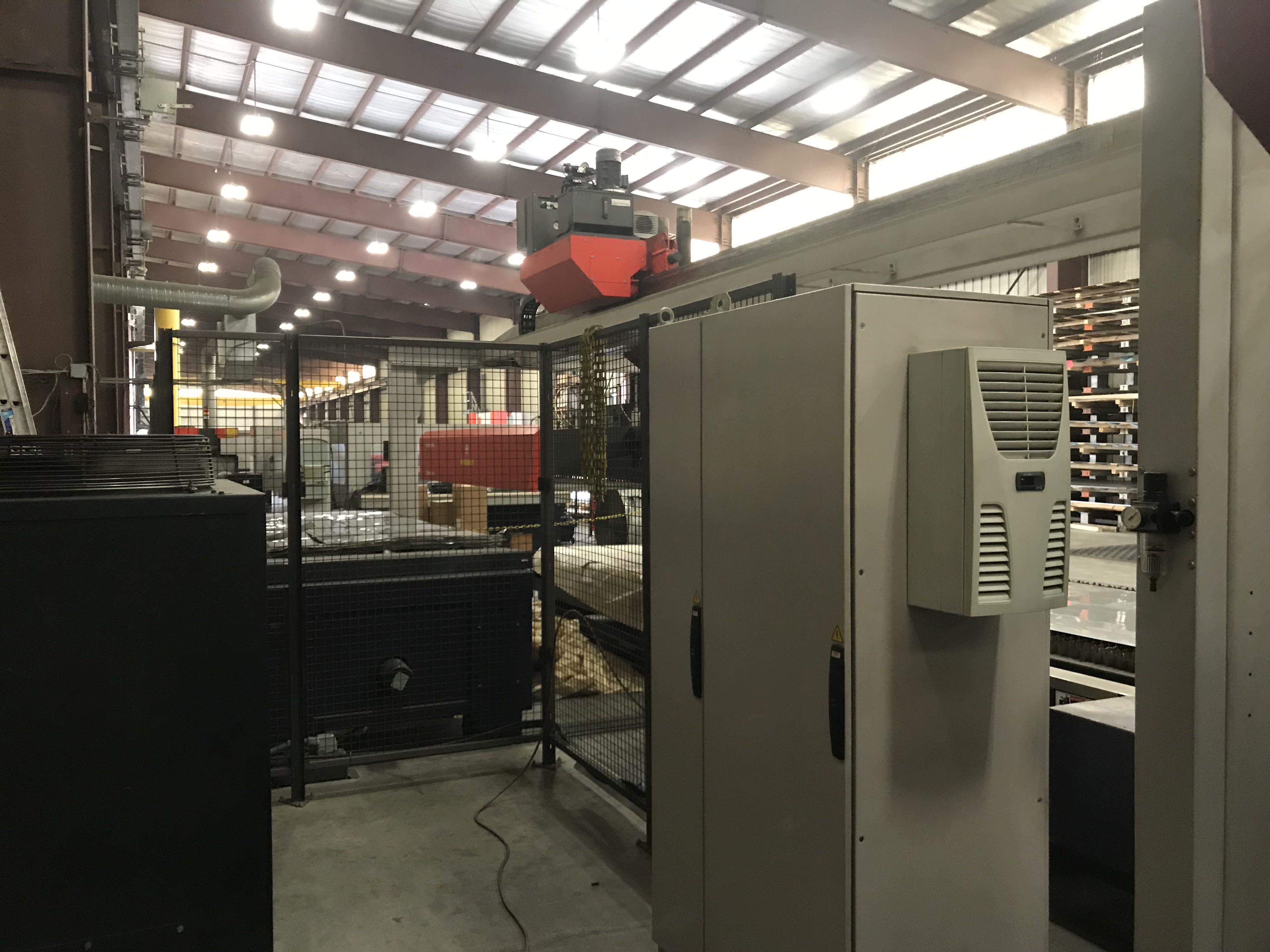 """2200 Watt Bystronic Bysprint 3015, X-120"""", Y-60"""", Bystronic CNC, Dual Pallets, New 2007, #30068"""