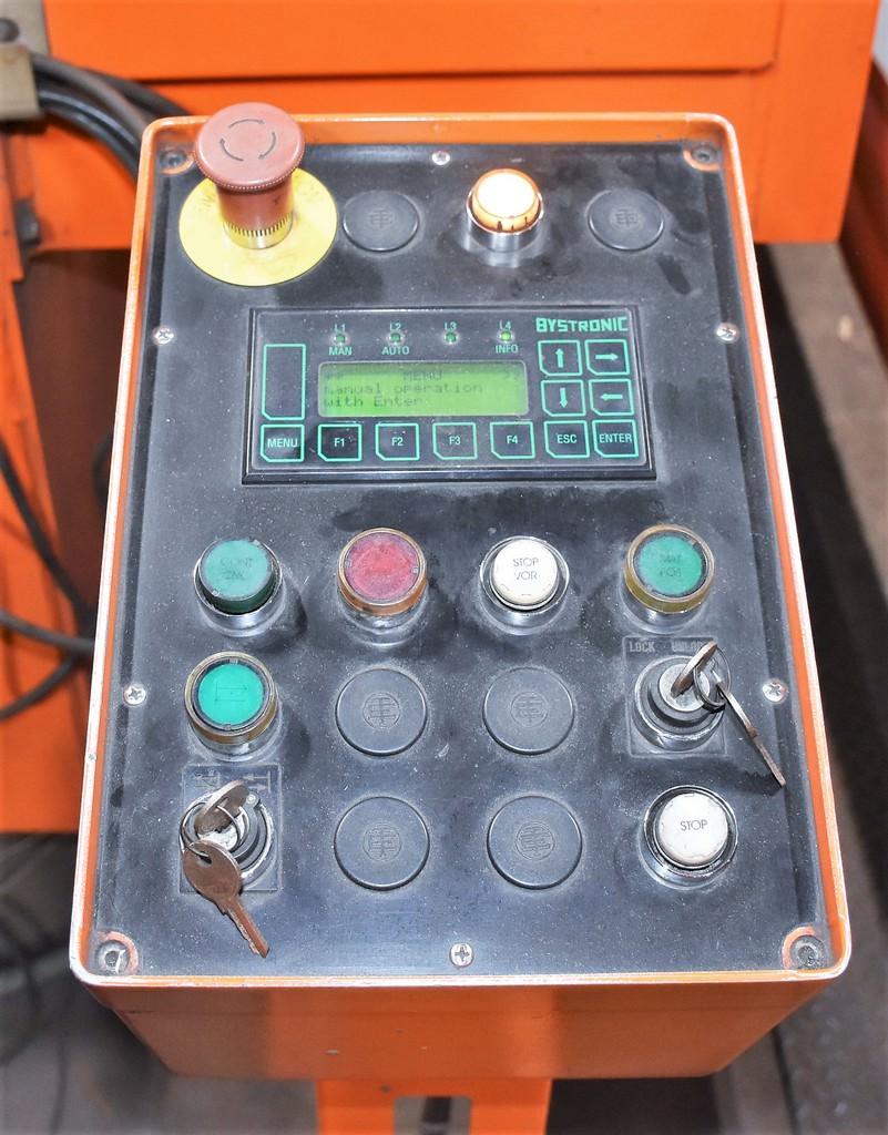 """Bystronic Bylas 6525, X-256"""", Y""""-96, 4200 Watt, CO2, Pallet Shuttle, Koolant Koolers Chiller, Bystronic CNC, #30604"""