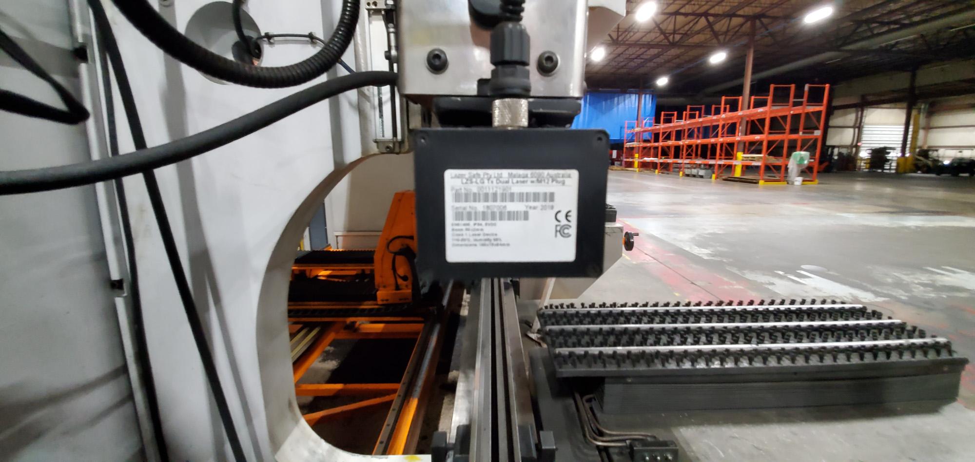 """2017 Ermaksan Speed-Bend Pro 3760-220 242-Ton x 12'4"""" 6-Axis CNC Press Brake"""