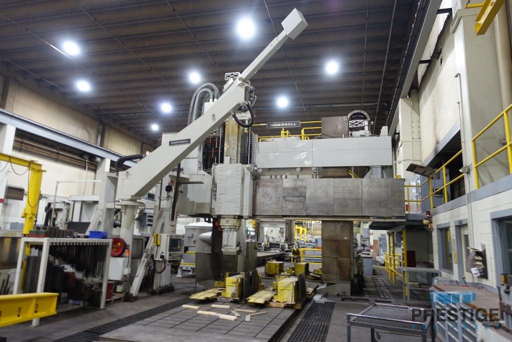 "Ingersoll Masterhead 5-Axis CNC Planer Mill 118"" x 551"" Split Table"
