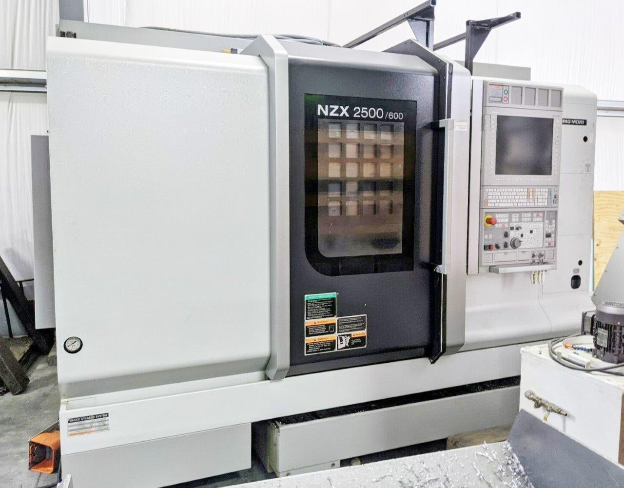 2015 DMG MORI NZX 2500/600L
