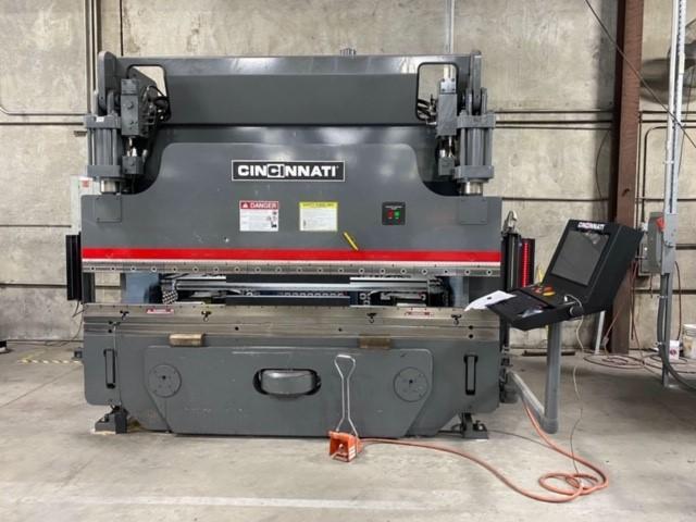 2018 CIncinnati 90PFx8, 10' x 90 Ton, 5 Axis CNC Hydraulic Press Brake